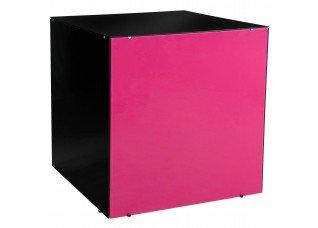 Aparador Cubo Vidro Colorido 0,90 x 0,90 x 0,90h
