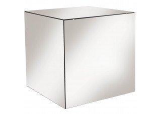 Mesa Cubo de Espelho Bronze