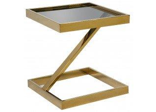 Mesa Chapelle Inox Dourado