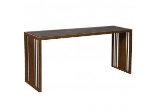 Sofá Table Ferro Envelhecido