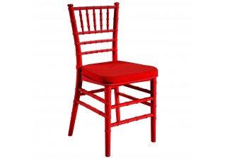 Cadeira Itália Mini Acrílico Vermelho