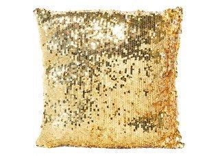 Almofada Paetê Ouro