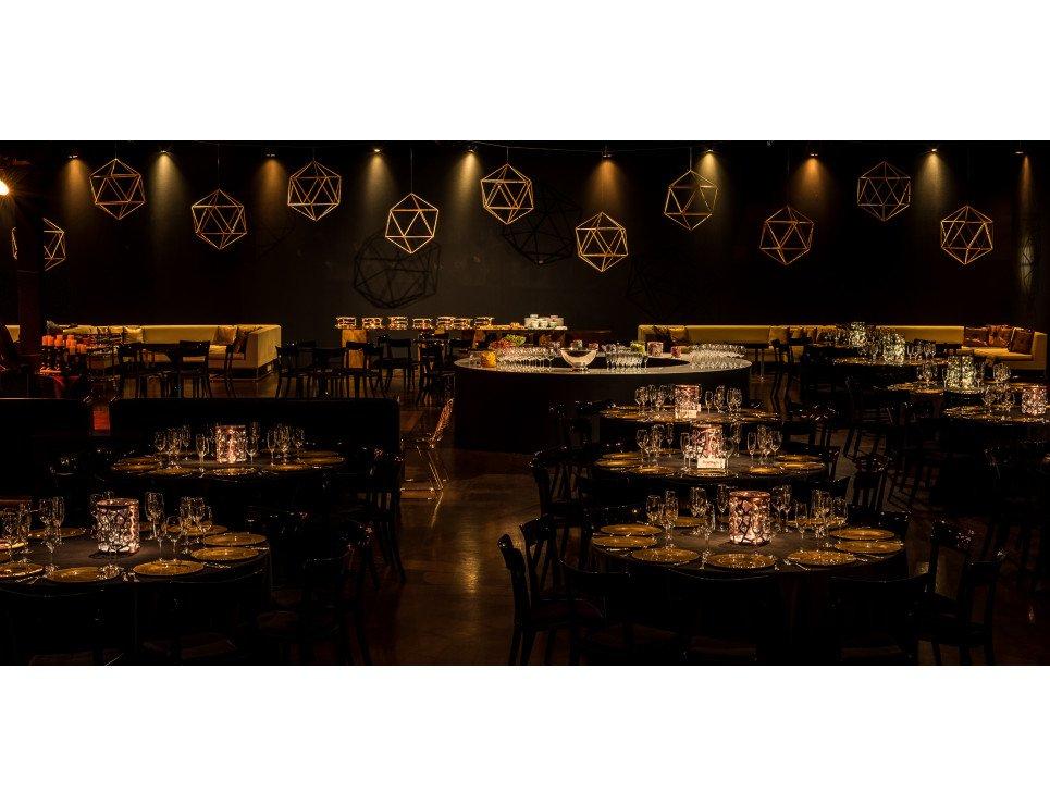 Bar Buffet Redondo Revestido