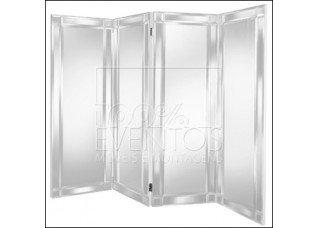 Biombo Espelho Bisotê