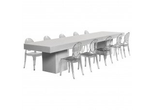 Mesa Mini com Cadeiras Mini Ghost